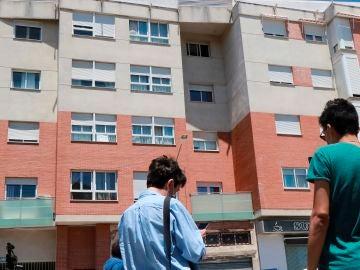 Imagen del edificio donde ocurrió el crimen machista de Úbeda