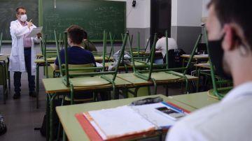 Vuelta a las aulas en Castilla León durante la desescalada