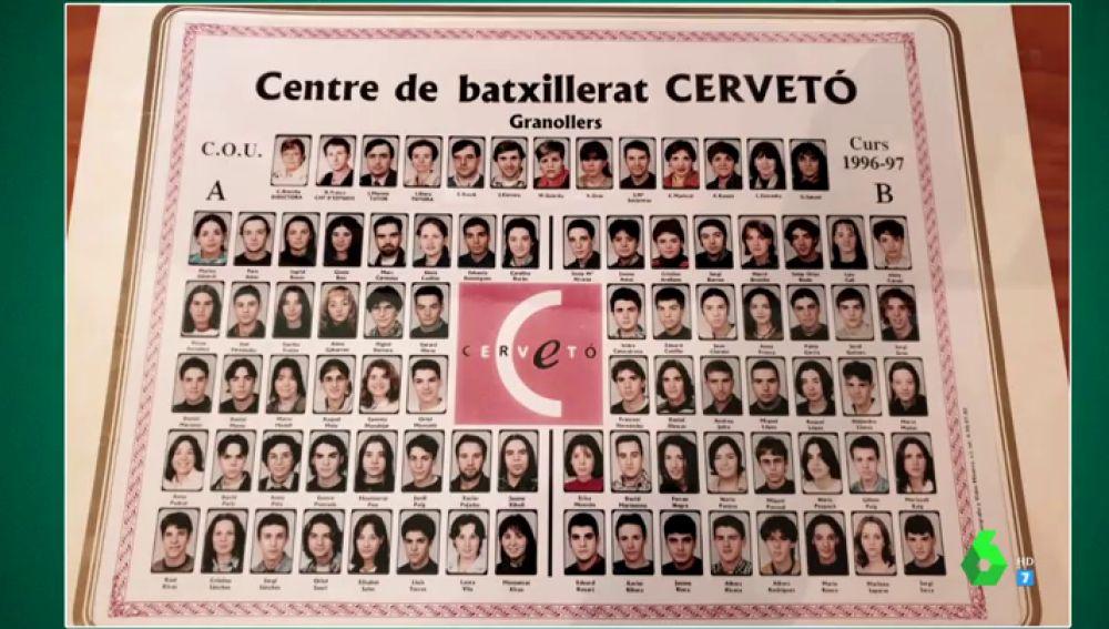 Así eran unos adolescentes Albert Rivera y Dani Mateo como compañeros de instituto: