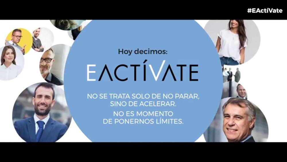 #EActíVate: no se trata de no parar, sino de acelerar