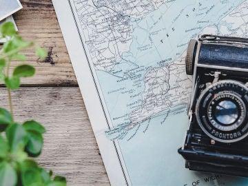 Cámara de fotos y mapas