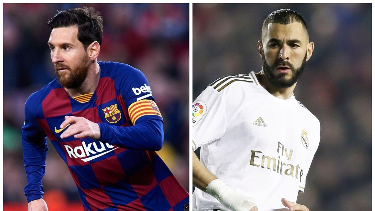 Lionel Messi y Karim Benzema