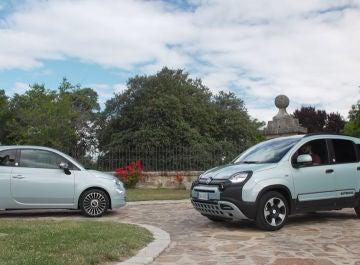 Prueba Fiat Panda y Fiat 500