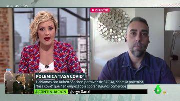 """Rubén Sánchez (Facua): """"No tiene nada de legal cobrar una 'tasa covid'"""""""