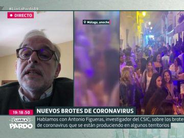 Antonio Figueras, investigador del CSIC