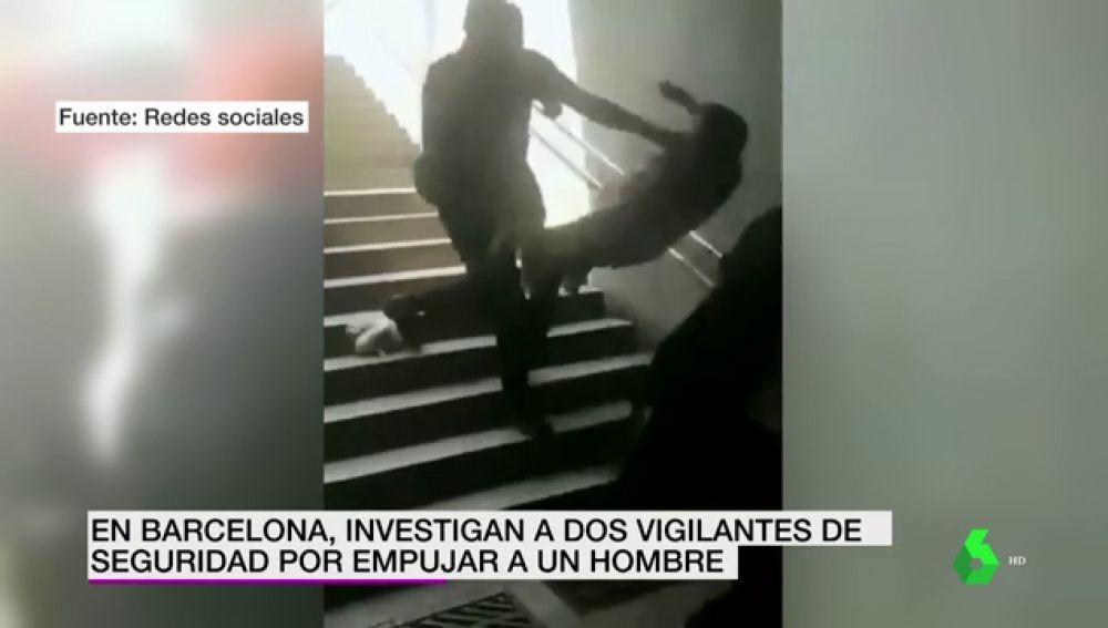 Investigan a dos vigilantes del Metro de Barcelona por agredir a un hombre que no llevaba mascarilla