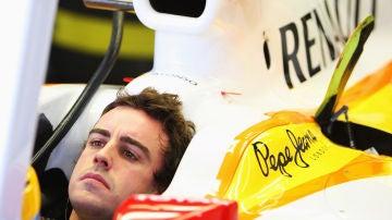 Fernando Alonso en Renault