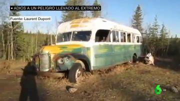 El 'autobús mágico' de Into the wild