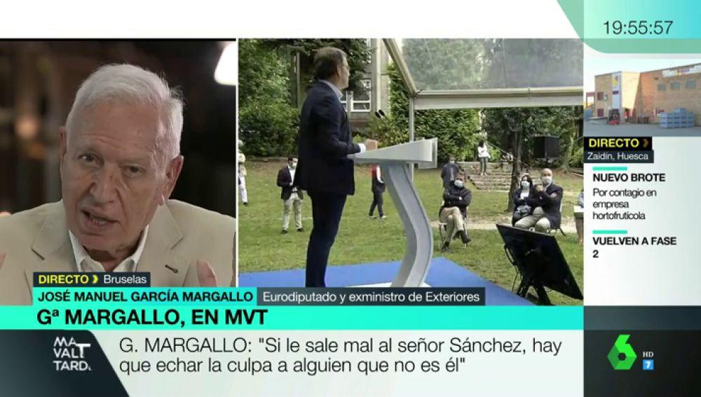 """García-Margallo: """"Si el PP se acerca a Vox, entre la copia y el original los electores siempre escogerán la original"""""""