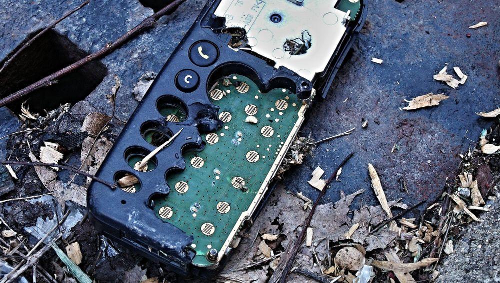 Desmontaje de móvil