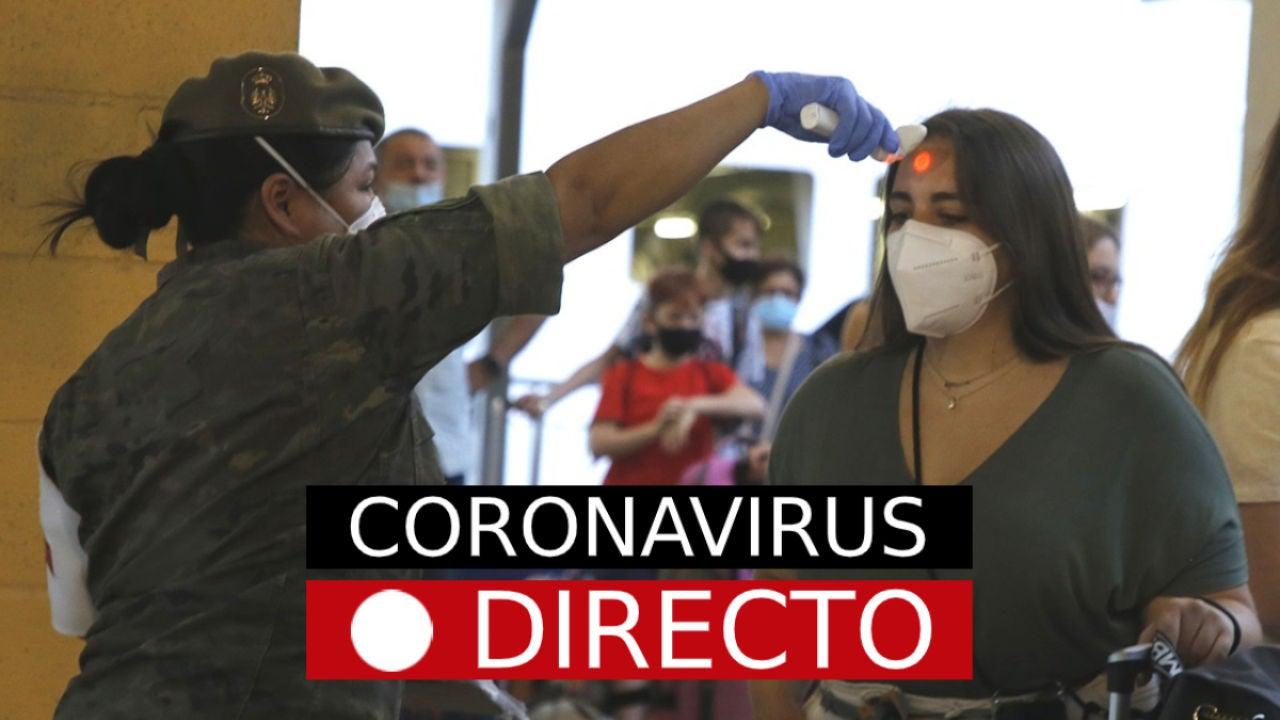 Nueva normalidad por coronavirus en España hoy, casos, muertos y rebrotes, en directo