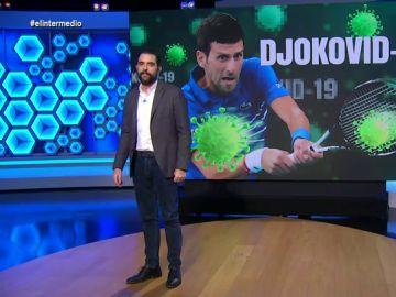 """El  """"revés"""" de """"Djokovic-19"""": Dani Mateo analiza los detalles del contagio por coronavirus del tenista"""