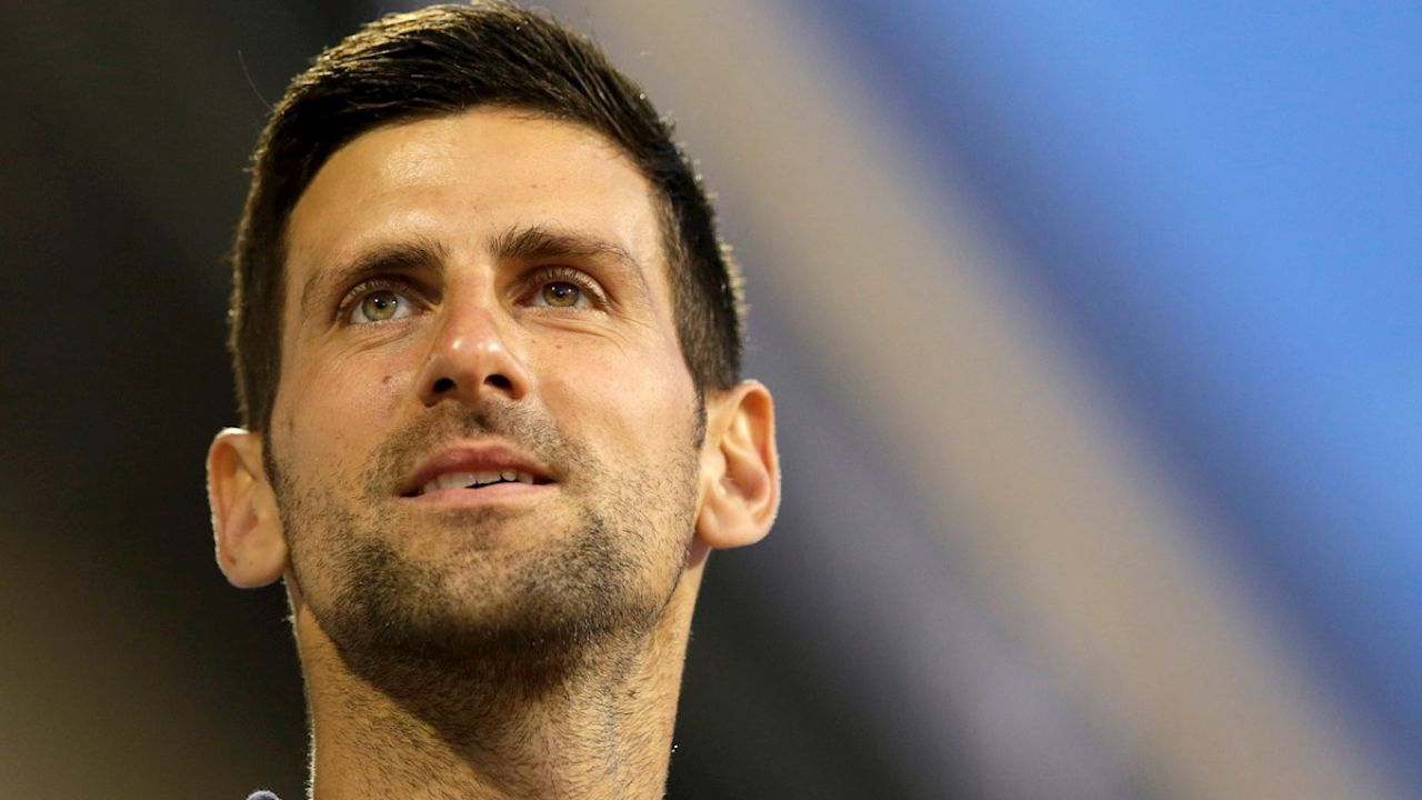 El tenista serbio, Novak Djokovic