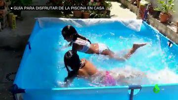 Guía para disfrutar de la piscina en casa sin peligro: recomendaciones