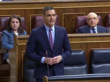 """Pedro Sánchez, a Pablo Casado: Siempre les hemos tendido la mano, pero no quieren llegar a ningún tipo de acuerdo"""""""