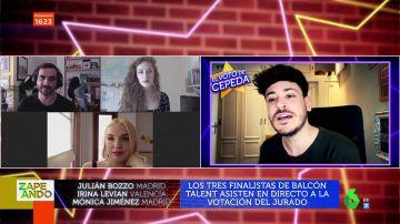 Cepeda, Soraya y Rosa desvelan al ganador de 'Balcon Talent': este es el emocionante momento