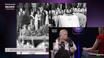 La fotógrafa Colita se disfrazó para colarse en el entierro de Franco