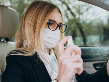 Desinfectar el interior del coche