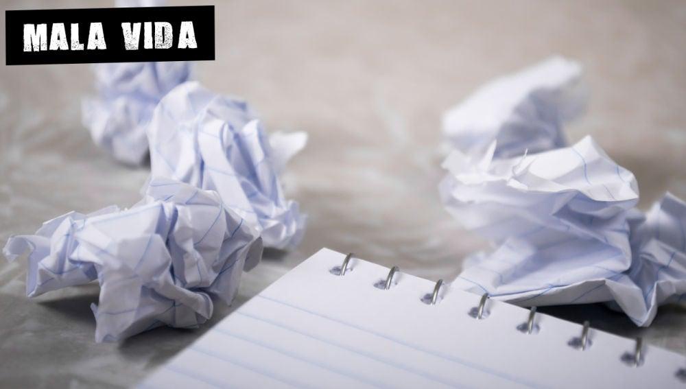 Errores sobre el papel
