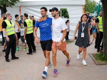 Djokovic y Dimitrov