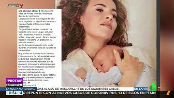 La conmovedora felicitación de Ana Obregón a su hijo Álex Lequio el día que hubiera cumplido 28 años