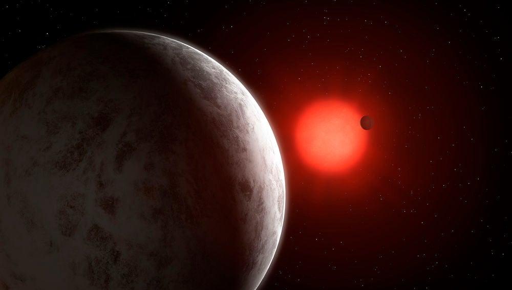 Descubiertas dos supertierras alrededor de la enana roja mas brillante del vecindario solar