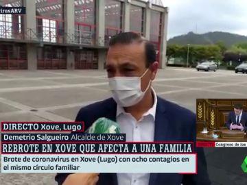 El alcalde de Xove da por controlado el brote de una familia de ocho miembros