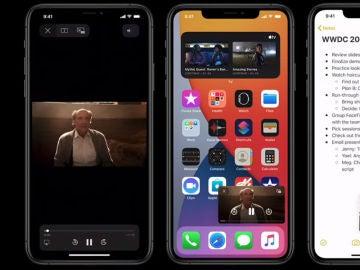 Tecnología picture in picture de iOS 14 para iPhone