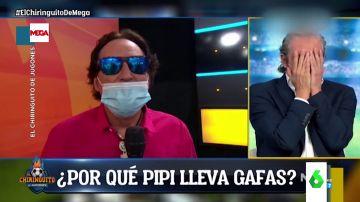 Gritos y manos en la cabeza en El Chiringuito al ver cómo tiene la cara Pipi tras su intervención quirúrgicapipi