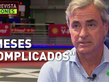Carlos Sainz desvela en Jugones