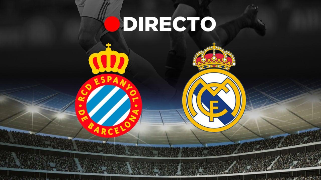 Espanyol - Real Madrid: partido de fútbol de hoy de LaLiga Santander, en directo