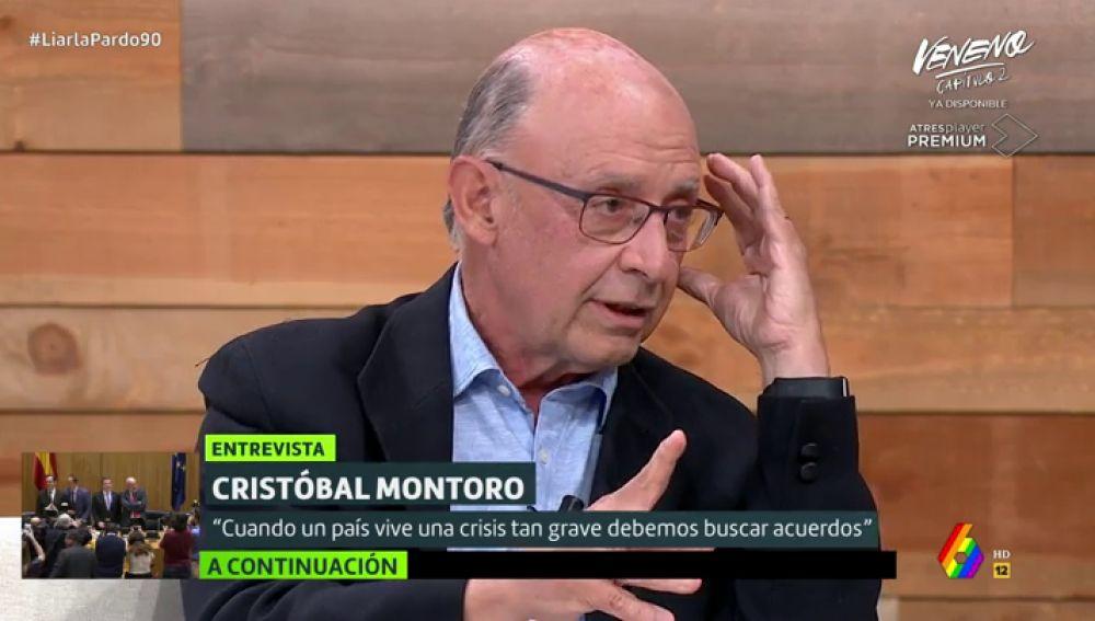Cristóbal Montoro en Liarla Pardo