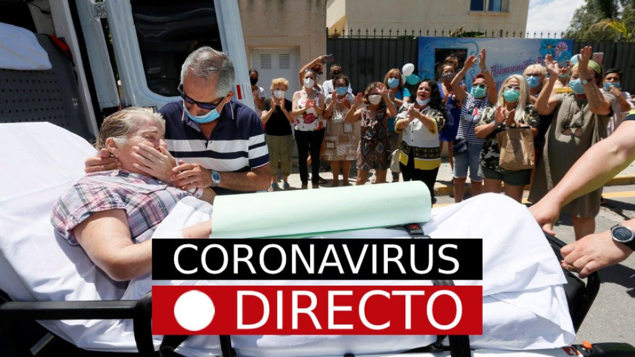 Coronavirus España hoy | Noticias de la nueva normalidad, casos, muertos y rebrotes, en directo