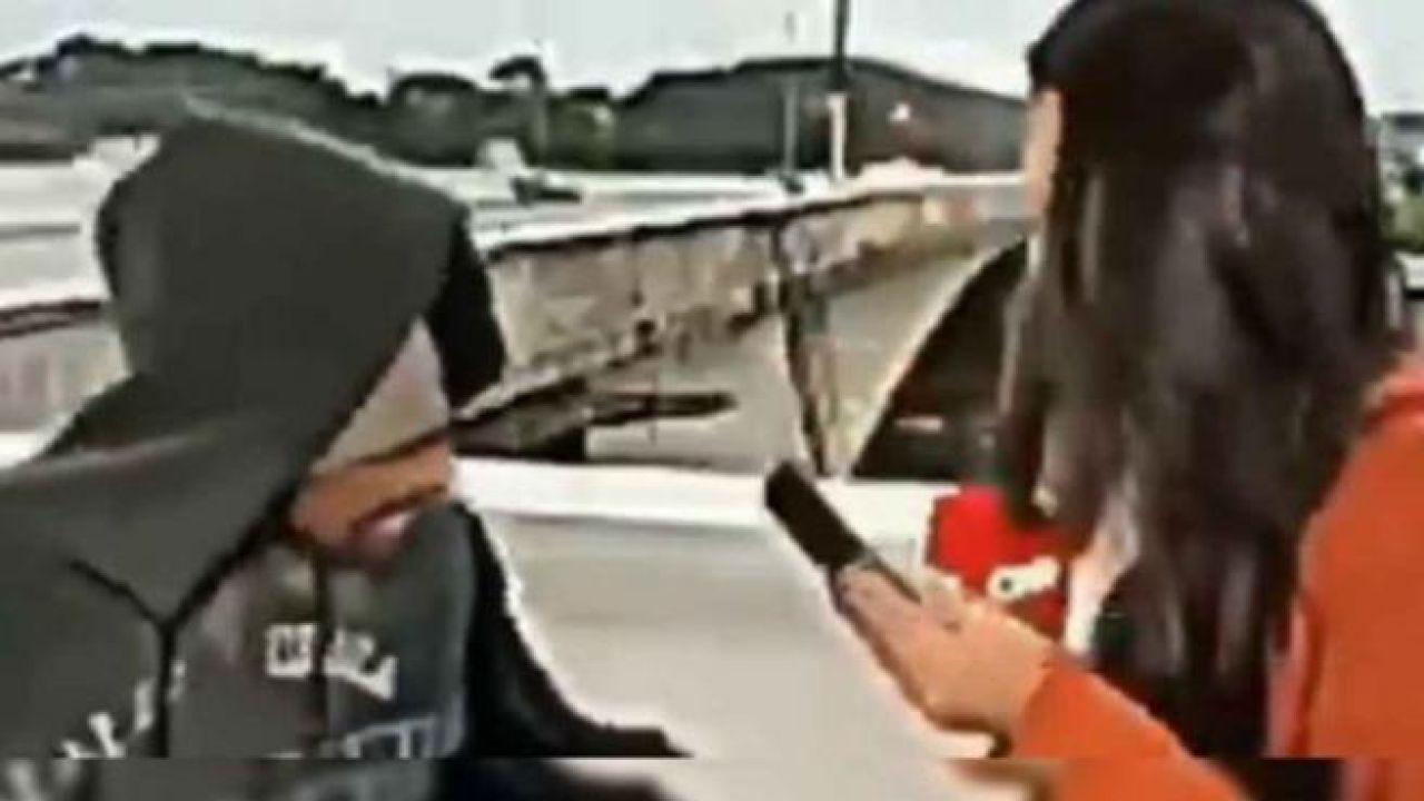 Atracan a una periodista de la CNN en directo
