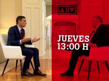Entrevista a Pedro Sánchez en Al Rojo Vivo