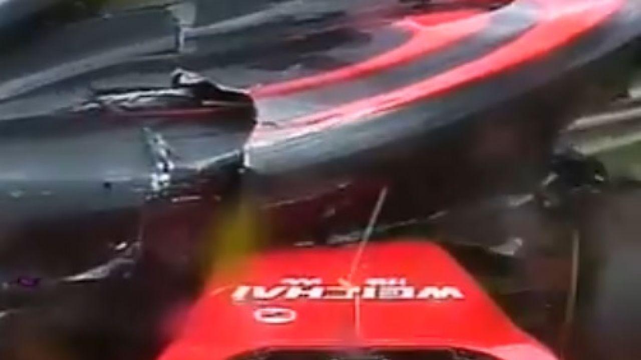 Accidente de Fernando Alonso y Kimi Raikkonen