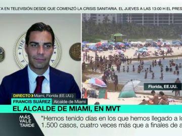 """El alcalde de Miami: """"Registramos más de 1.000 contagios en un día por fiestas en botes, restaurantes y hogares"""""""
