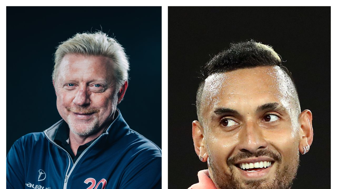 Boris Becker y Nick Kyrgios