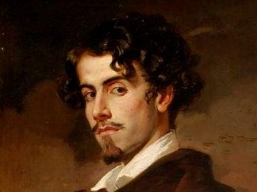 Gustavo Adolfo Becquer - Retrato de Valeriano Domínguez Becquer