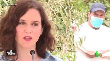 Vídeo manipulado -  Un rapero trolea la comparecencia de Isabel Diaz Ayuso