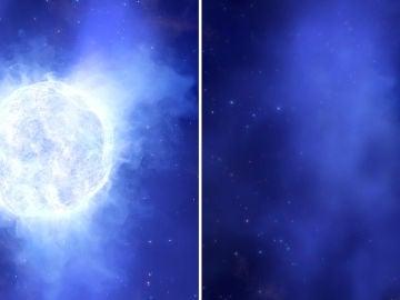 Desaparece una estrella sin dejar rastro