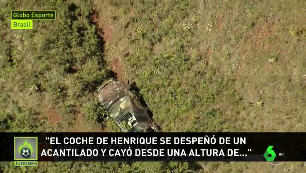 Accidente Henrique Brasil
