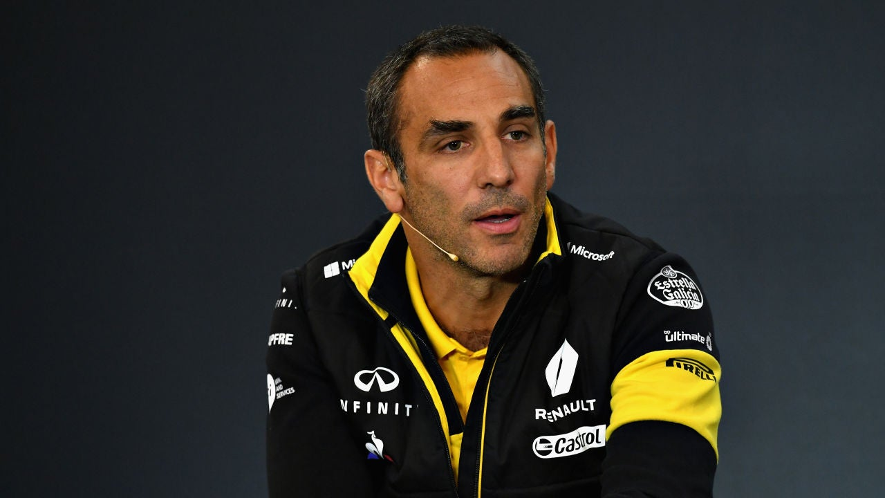 Cyril Abiteboul, director general de Renault Sport F1