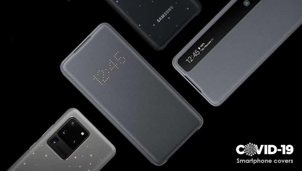 Nuevas fundas anti-Covid-19 de Samsung para sus smartphones