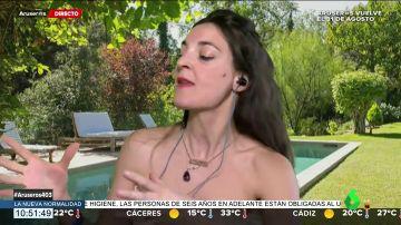 Leonor Lavado se mete en la piel de Maite Galdeano para hablar de la mala relación con su hijo Cristian Suescun