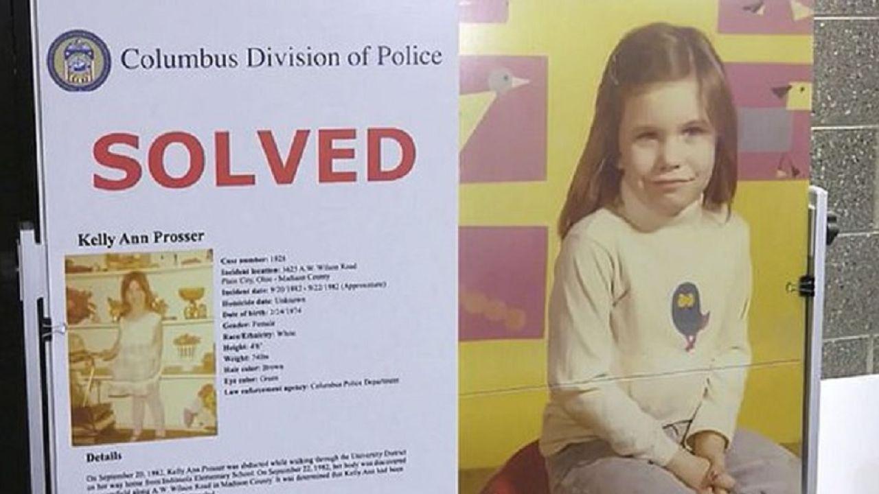Imagen de Kelly Ann, la niña que fue asesinada hace 38 años