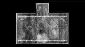 Rayos X de 'El Descendimiento', de Rogier van der Weyden