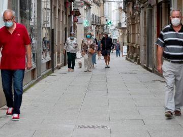 Vista de la localidad de Viveiro (Lugo)