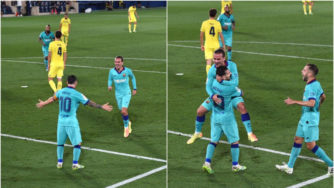 Ganó el Barcelona de Messi y sigue persiguiendo al Real Madrid