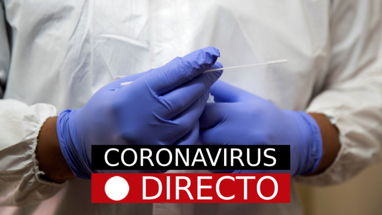 Imagen de archivo de una prueba de coronavirus